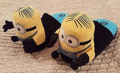 STOMPEEZ Children's Minions Slippers Size Small