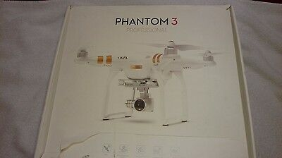 Dji Phantom 3 Professional 4K and 2 Batteries
