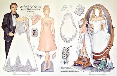 Now & Forever, A Dream Come True Paper Doll, By Karen Prince, Mag. Plate, 1997