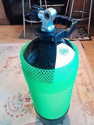 Faber 15L 232 bar O2 clean cylinder + handle + boot + mesh.