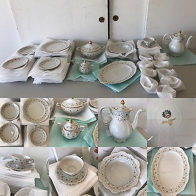 **gorgeous Set Of Mitterteich Lady Patricia China Bavaria, Germany**