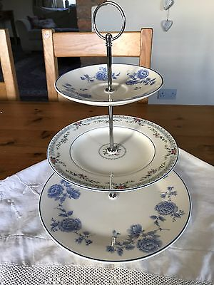 Vintage Shabby Chic 3 Tier  Cake Stand Afternoon Tea Wedding