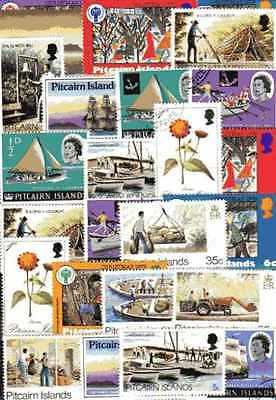 Pitcairn Islands 100 timbres différents