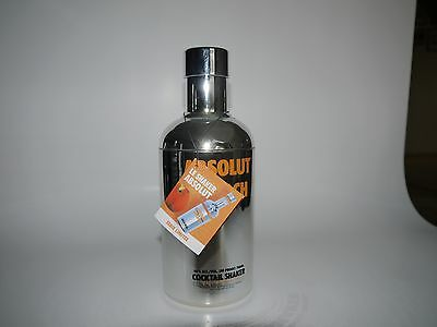 Absolut Vodka Shaker Apeach 700ml mit Tag ohne Alkohol