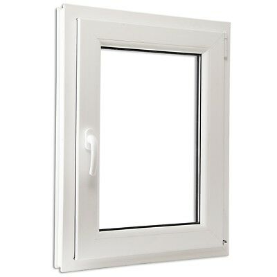 #Double Glazed Tilt & Turn PVC Window Handle on the Left 600 x 900 mm