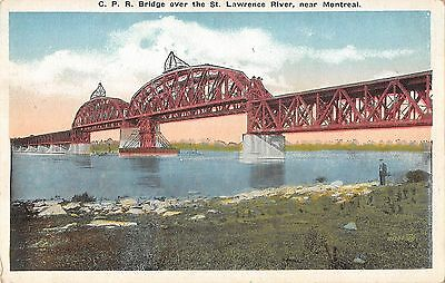 BR45624 Bridge over the St Lawrence River near Montreal canada 1