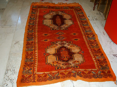 Old African Morocco Rug Afrika Marokko Teppich Tapis Vieux Marocain Africain