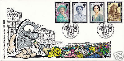 2002 Queen Mother - Phil Stamp Official