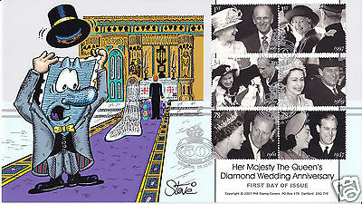 2007 Diamond Wedding - Phil Stamp Official - SIGNED by STEVE OLIVER !