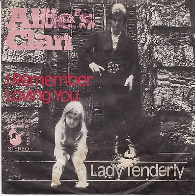 "Alfie´s Clan (= ALFIE KHAN ) I Remember Loving You Lady Tenderly German 7"" 45 PS"