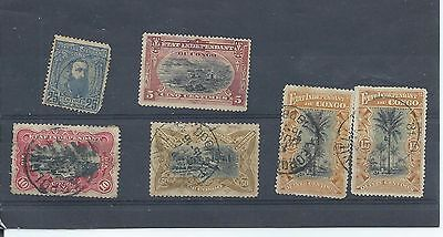 Belgian Congo stamps  Early used lot..  (Z584)