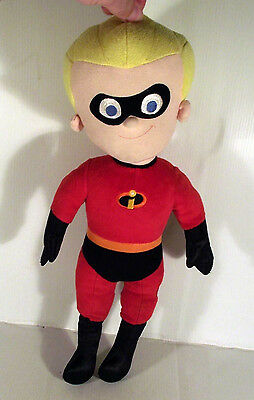 """18"""" Disney Store Talking Dash Soft Toy From Pixar The Incredibles Movie"""