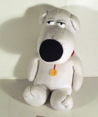 "10"" Brian The Dog Soft Toy - Family Guy Tv Series"