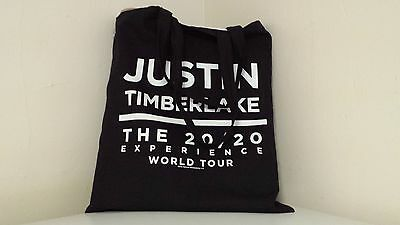 JUSTIN TIMBERLAKE 20/20 Experience World Tour VIP Package Merchandise 5 ITEMS