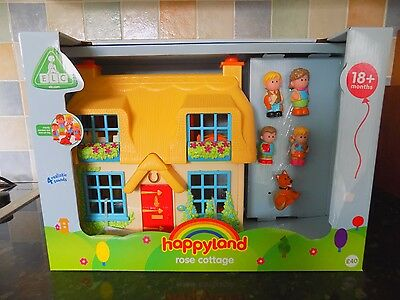ELC  Happyland Rose Cottage   Brand New in Box