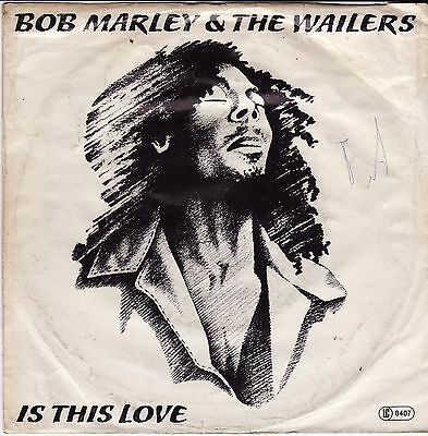 "Bob Marley & The Wailers - Is This Love / Crisis German 7"" 45 PS Island"
