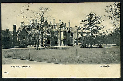 Bushey Hall (RAF & USAF in WW2), nr Watford, Hertfordshire. posted 1907