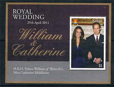 Kiribati 2011 Royal Wedding 1v MS MNH