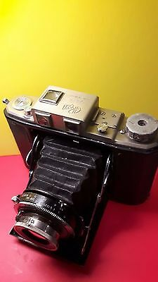 Green Camera works 6x6  camera With Nippon 7.5cm lens& Super Miyako shutter