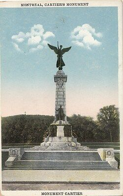 B77454 cartier s monument montreal canada scan front/back image