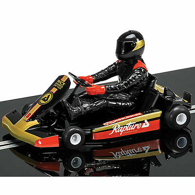 SCALEXTRIC Slot Car C3667 Super Kart 1 (Black)