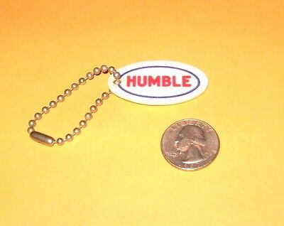 VINTAGE 1960's HUMBLE OIL COMPANY KEY CHAIN HUMBLE OIL COMPANY ENCO TEXAS