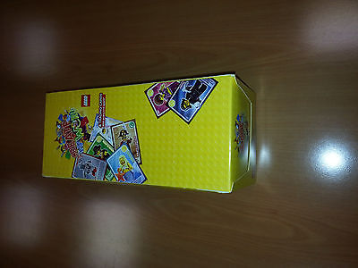 LEGO Create the World Trading Cards Sainsburys Unopened 300 packets – 1200 Cards