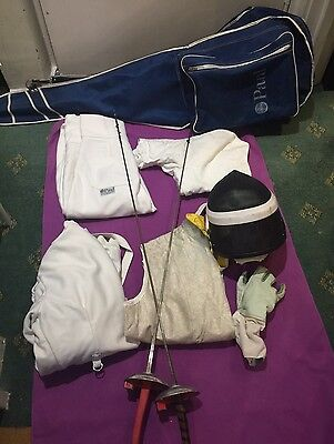 Set Of Fencing Foil Equipments From Leon Paul