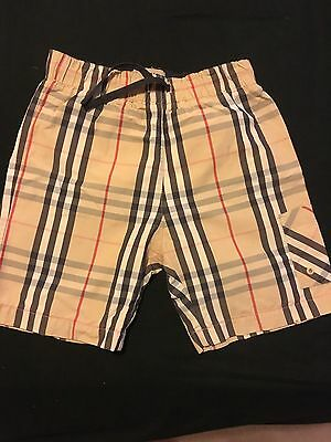 Boys Burberry Swimming Shorts