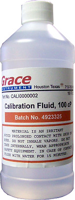 16OUNCE 100cp Calibration Fluid----Grace Instrument (Intl orders)