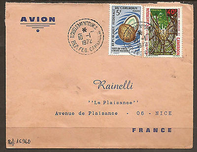 Cameroun. 1972. Air Mail Cover. Nguelemendouka Postmark. Missing Back Flap.