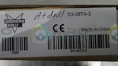 Automation Direct D3-08Ta-2 Output Module *new In Box*