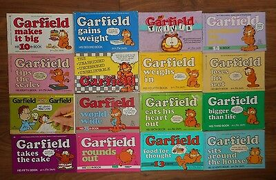 Lot Garfield Comic Strip Book Some Vintage By Jim Davis Summer Fun Read Serie +