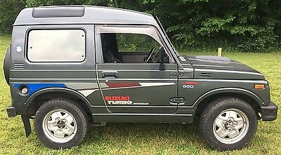"1990 Suzuki Samurai Turbo Bubbletop 1990 Suzuki Jimny SJ30 ""Bubbletop"" OEM Turbocharged/Intercooled"