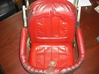 vintage baby car seat childs car seat 1960's or 70's