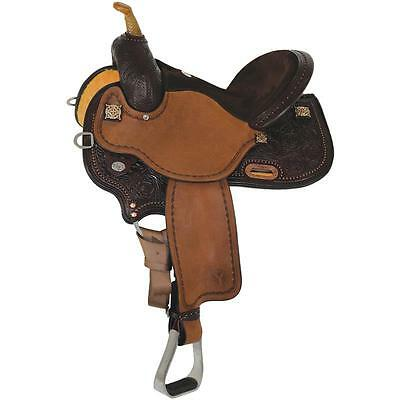 "Circle Y 14.5"" KK Faith Western Barrel Saddle #1524 New Full Quarter Horse Bar"