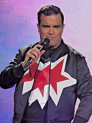 1500 Robbie Williams Heavy Entertainment Show. Live Tour Concert Photos Cd/dvd
