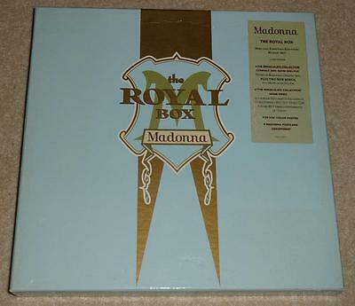 MADONNA The Royal Box GERMAN LIMITED EDITION BOX SET (CD + VHS Video) MINT!!
