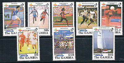 Gambia 1990 Olympic Games SG 1069/76 MNH
