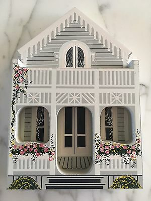 Shelia's collectible wooden houses Gingerbread Cottage Oak Bluffs Massachusetts