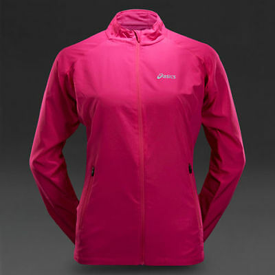 BNWT ladies ASICS WOVEN JACKET TOP running gym casual size L uk 14-16 RRP £70