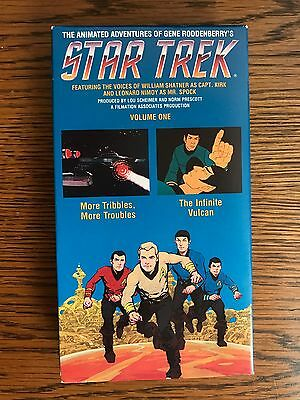Vol. I Animated Adventures of Gene Roddenberry's Star Trek VHS ISBN 0792109740