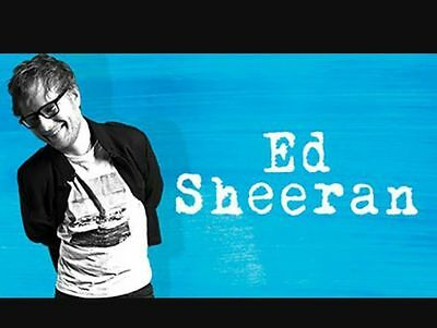 ED SHEERAN | MELBOURNE | 9TH MARCH | GRANDSTAND SEATED | B RESERVE | 2 x TICKETS
