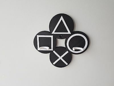 PS4 Buttons PSVR Move Controllers Wall Mount - 2 Colour