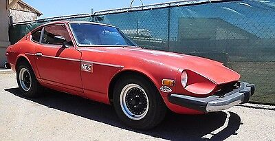 1975 Datsun Z-Series  1975 Datsun 280Z- V8 AT-Long, Long Time Sitter- Beautiful Solid Rustfree Project