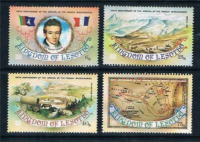 Lesotho 1983 French Missionaries SG 550-3  MNH