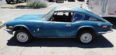 1971 Triumph GT6 Stck 1971 Triumph GT6 MkIII--Long, Long Time Sitter- Beautiful Solid Rustfree Project