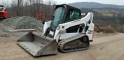 2013 Bobcat S850 Skid Steer Fully Loaded High Flow 2 Spd Sjc Ready To Work In Pa