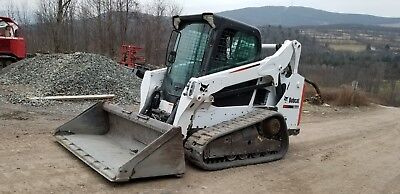 Bobcat A300 Skid Steer Cab Heat A/c Two Speed Very Nice!  Ready To Work In Pa!