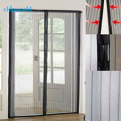 Flux Phenom Reinforced Magnetic Screen Door Fits To 38 x 82 inch Anti-mosquito